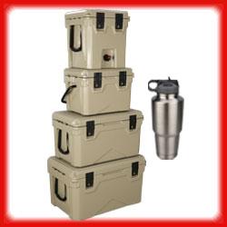 SPORTSMAN COOLERS / WATER DISPENSER / DRINKWARE