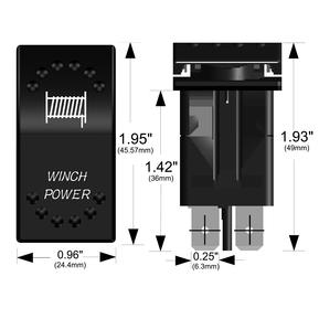 20262 WINCH POWER Rocker Switch