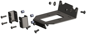 15187 Winch Mount Polaris RZR XC