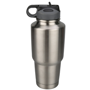 80052 30oz 304SS Tumbler with Flip-up Straw Lid