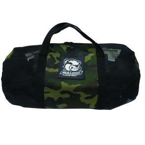 Includes free Camo-Mesh Duffle Storage Bag!!