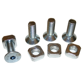 20297 - Winch Mounting Hardware 10x30mm Countersunk Grd 8, Set 4