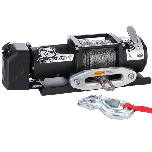 10062 9800 lb Trailer Winch with Synthetic Rope